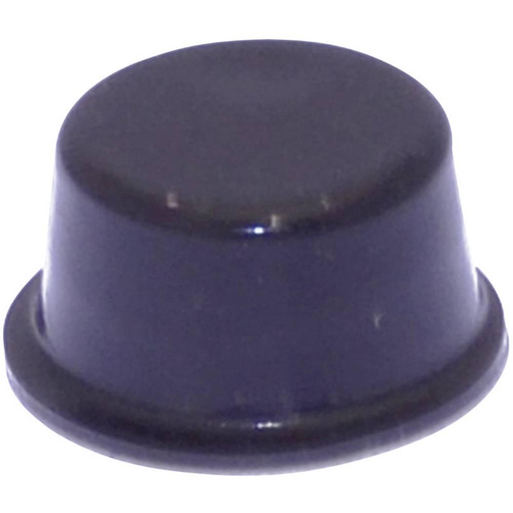 Chassisfod TOOLCRAFT PD2128SW Selvklæbende, Rund Sort (Ø x H) 12.7 mm x 6.2 mm 1 stk