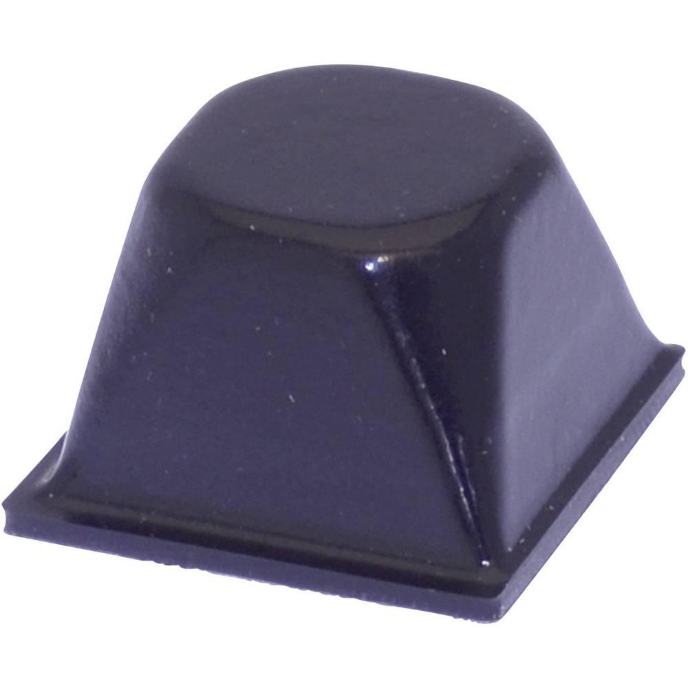 Chassisfod TOOLCRAFT PD3206SW Selvklæbende, Rund Sort (Ø x H) 20.5 mm x 13.2 mm 1 stk