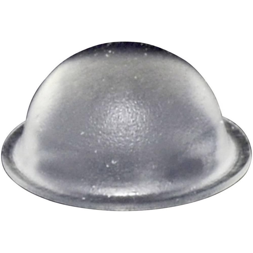 Chassisfod TOOLCRAFT PD2150C Selvklæbende, Rund Transparent (Ø x H) 16 mm x 7.9 mm 1 stk