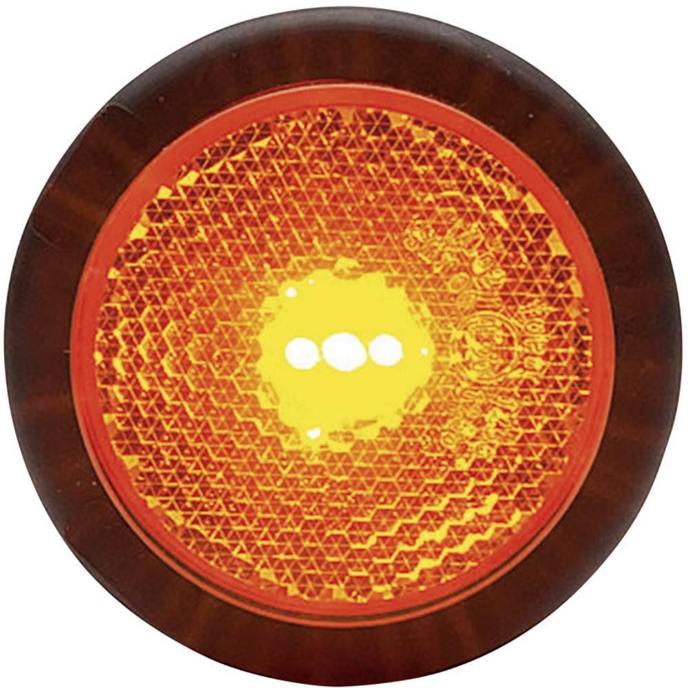 Pozicijska LED luč za priklopnike, odsevnik, oranžna 12 V, 24 V SecoRüt