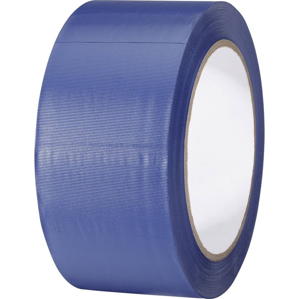 Univerzalni lepilni trak iz PVC-ja Toolcraft 832450B-C, (D x Š) 33 m x 50 mm, modre barve