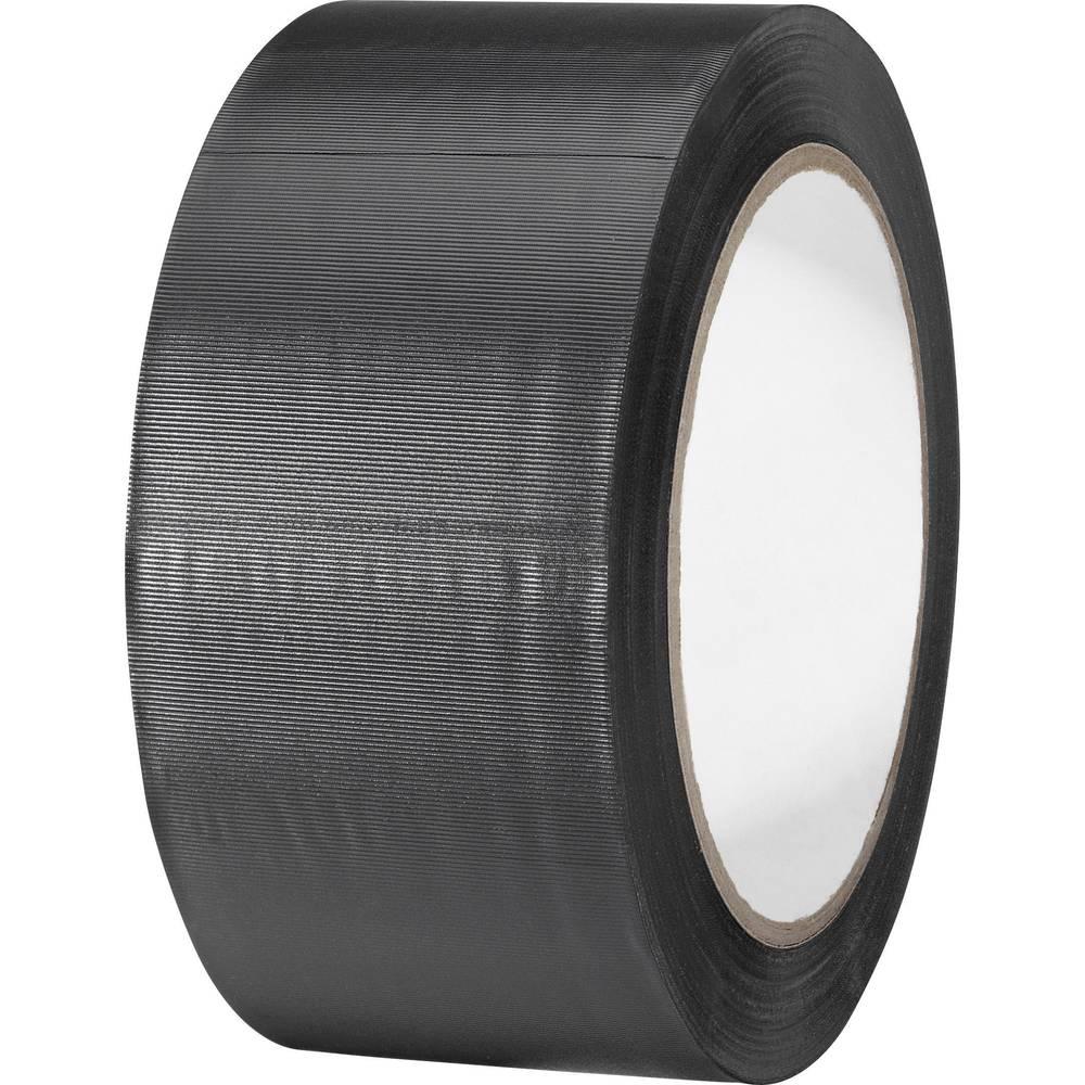 Univerzalni lepilni trak iz PVC-ja Toolcraft 832450S-C, (D x Š) 33 m x 50 mm, črne barve