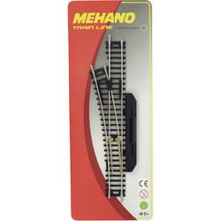 Ročno prestavljiva kretnica Mehano F282, prestavljanje v levo smer, velikost: H0
