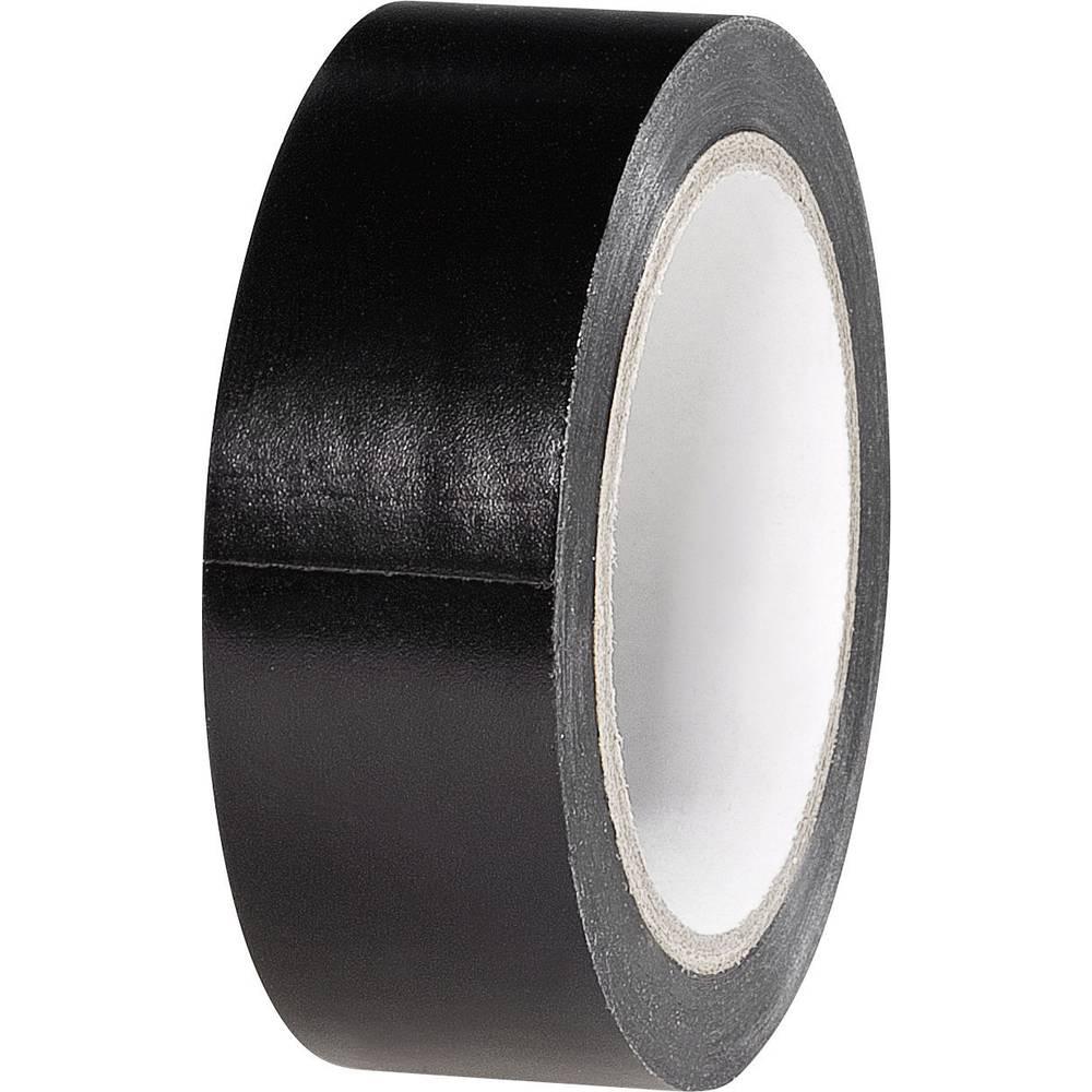 PVC Elektroizolacijska traka (D x Š) 6 m x 19 mm crna PVC K1B19L6S-C TOOLCRAFT sadržaj: 1 rola