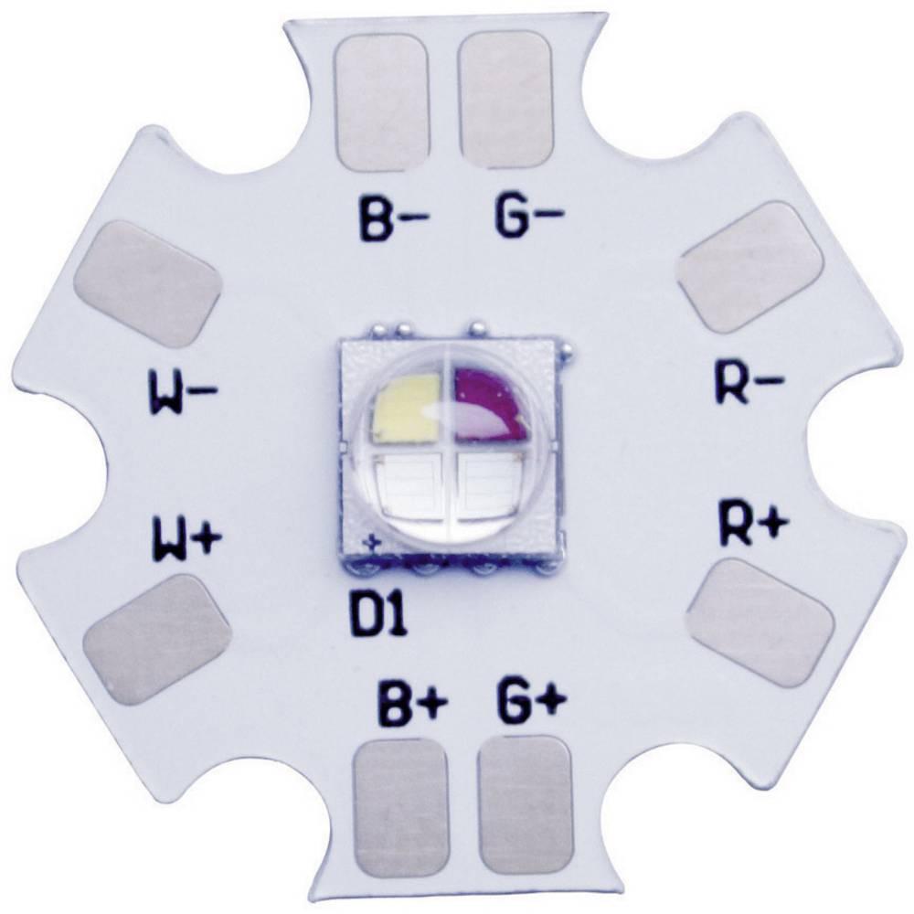 HighPower LED RGB, nevtralno bela 14 lm, 46 lm, 80 lm, 87 lm 130 ° 2.25 V, 3.3 V, 3.1 V, 3.1 V 350 mA Barthelme 61002026