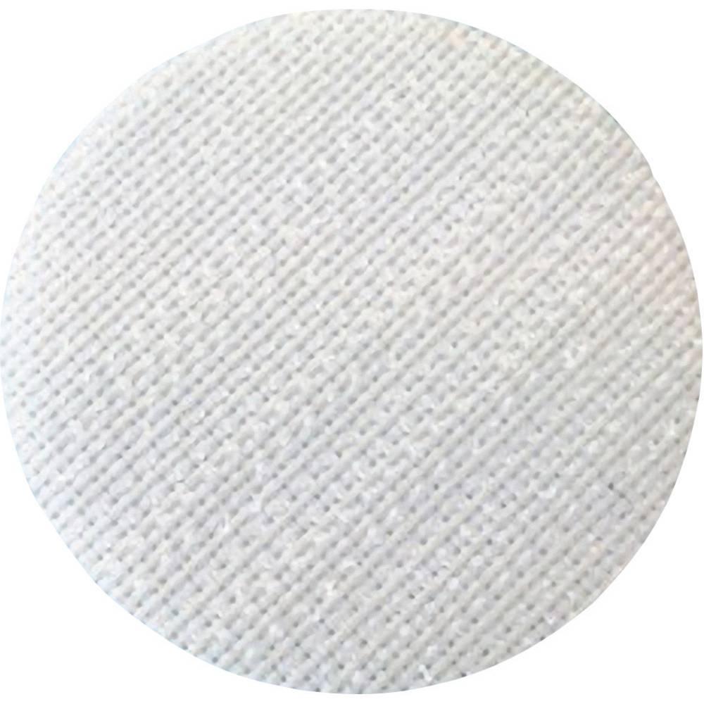 Samoljepljivi krug s čičkom Fastech prianjajući dio promjer 35 mm bijela T01035000003C1 1 komad