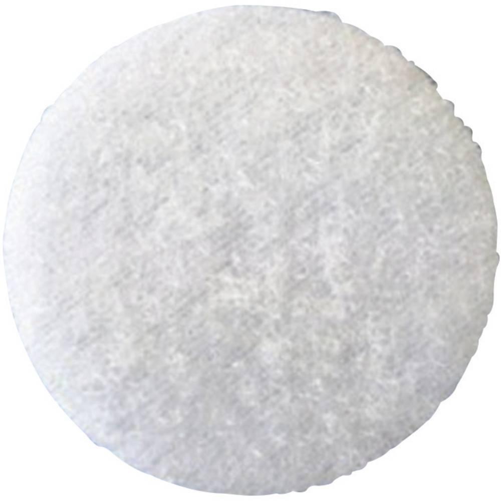 Samoljepljivi krug s čičkom T02035000003C1 Fastech mekani dio promjer 35 mm bijela 1 komad
