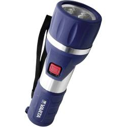 LED džepna svjetiljka Varta Day Light 2 D na baterije 198 g plava, srebrna