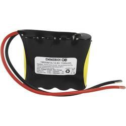 LiFePO4 akumulator Emmerich 18650, 12, 8 V, 1.100 mAh, (Š x V x G) 80 x 66 x 19 mm 4A12318650RK
