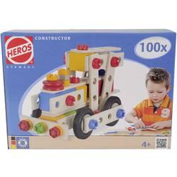 100-delni komplet za sestavljanje Heros Constructor, št. modelov: 6, od 4. leta naprej 100039027