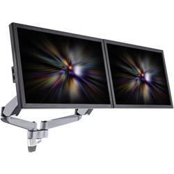 Xergo SuperFlex dvostruki stalak za ekrane, zidna montaža tehnikom plinskog tlaka