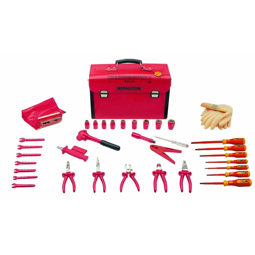 VDE kofer sa alatom 35-dijelni set Bernstein SAFETY 8100 VDE (D x Š x V) 440 x 175 x 310 mm