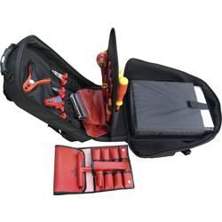 VDE nahrbtnik za orodje, z vsebino, 22 delni Bernstein GLOBET rdeče barveTER 8300 VDE (D x Š x V) 350 x 430 x 230 mm