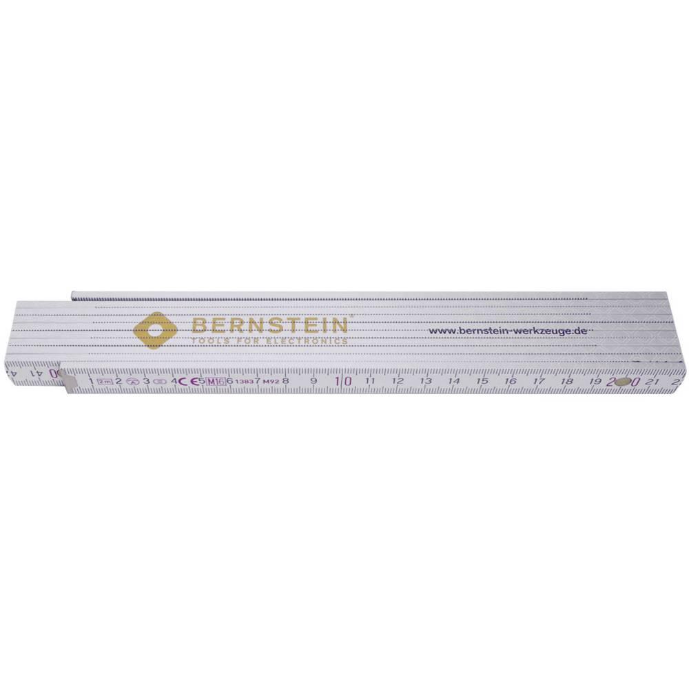 Zložljivo ravnilo 2 m leseno Bernstein 7-502