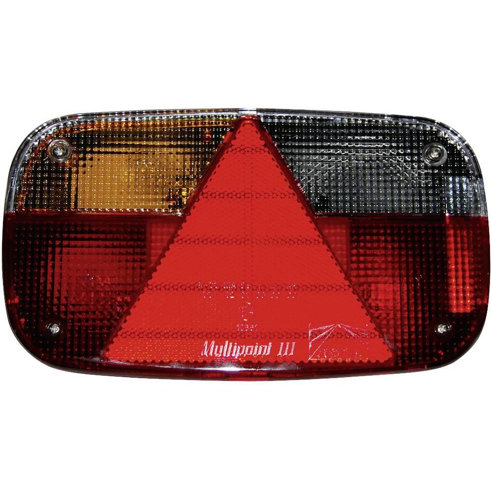 Halogenska zadnja luč za priklopnike, odsevnik, zavorna luč, smernik, luč za registrsko tablico, trikotni odsevnik, meglenka