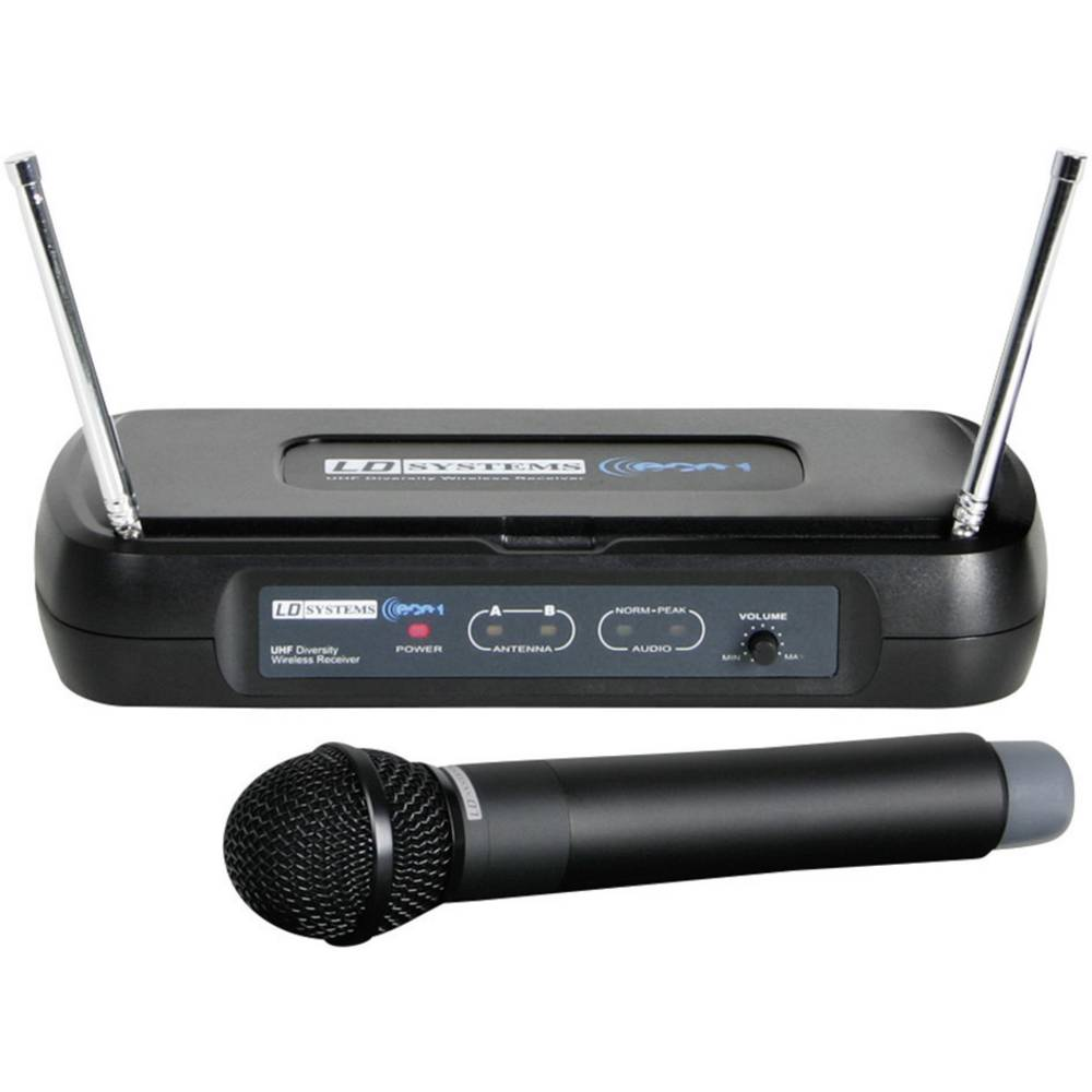 Bežični mikrofon Mc Crypt, komplet WSECO2BPH1 LD Systems