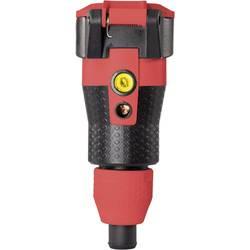 Skarvuttag ABL Sursum Plast med spänningsvisning 230 V IP54 Svart, Röd