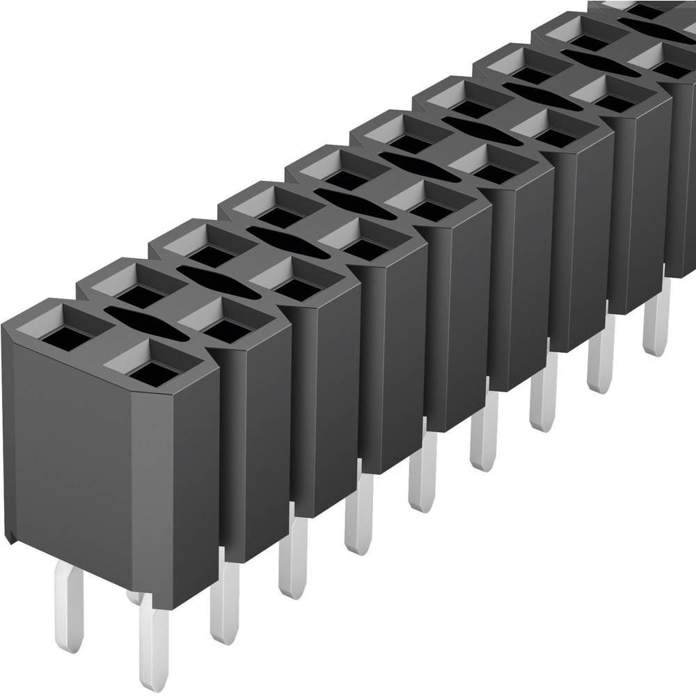 Bøsningsliste (standard) Fischer Elektronik BL LP 2/ 72/S 1 stk