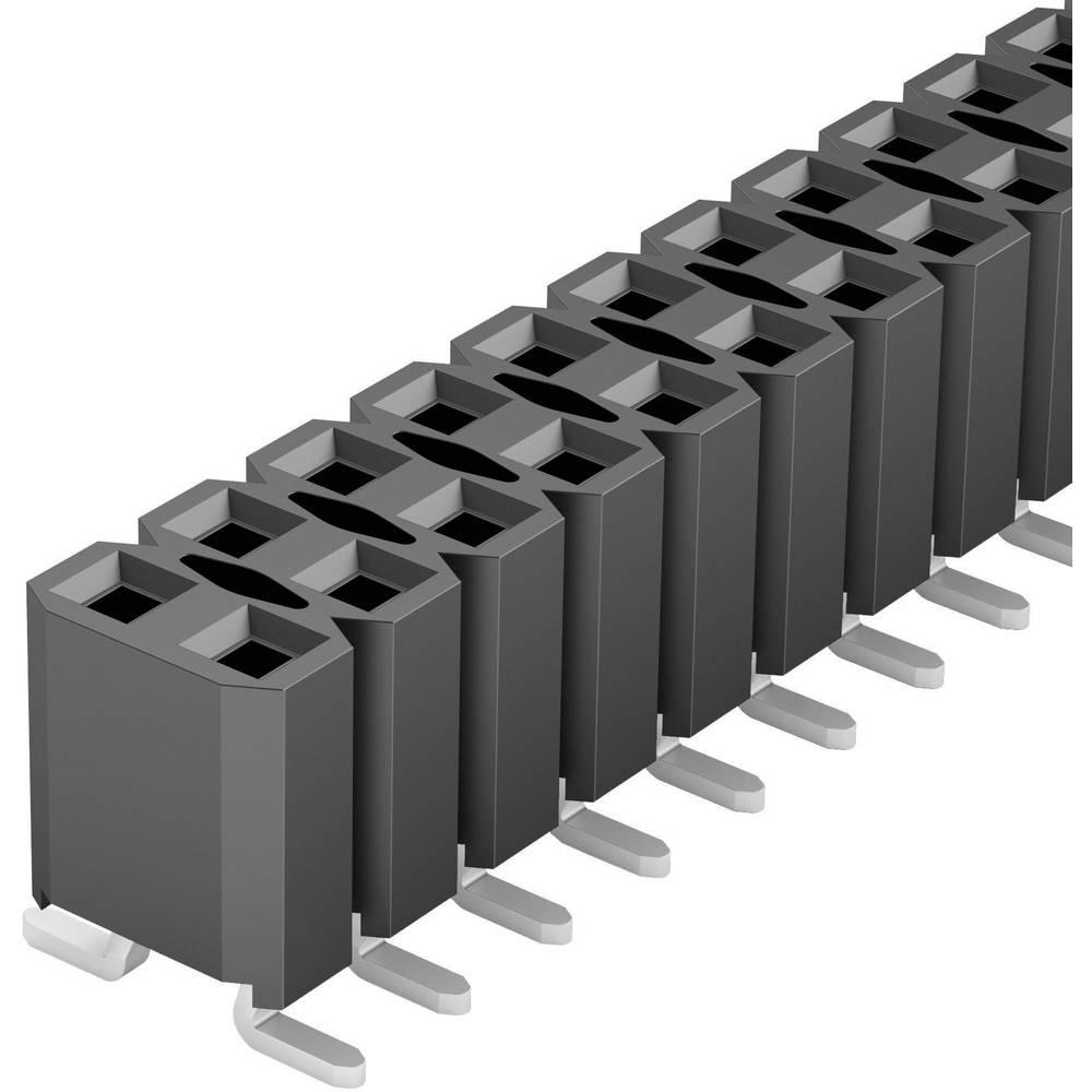 Bøsningsliste (standard) Fischer Elektronik BL LP 6 SMD/ 40/Z 1 stk