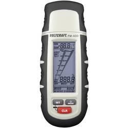 Merilnik vlage v materialu VOLTCRAFT FM-400 vlažnost v zgradbah (merilno območje): 0.1 do 24 % vol vlažnost v lesu: 1 do 60 % vo