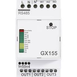 Conrad GSM dlajinsko stikalo-/Alarmni modul GX155 za montažo na tračnico