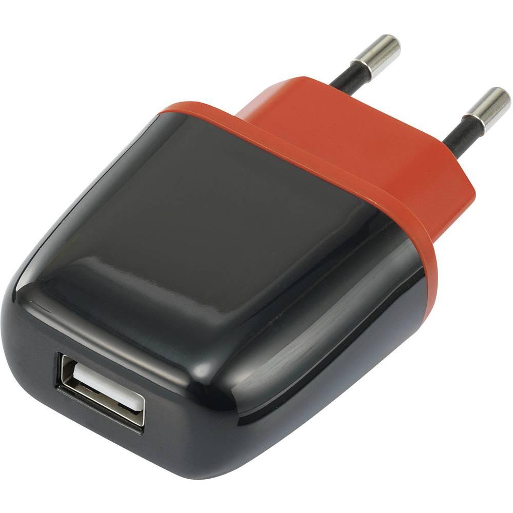 USB-polnilna vtičnica VOLTCRAFT SPAS-2100 izhodni tok (maks.) 2100 mA 1 x USB Auto-Detect