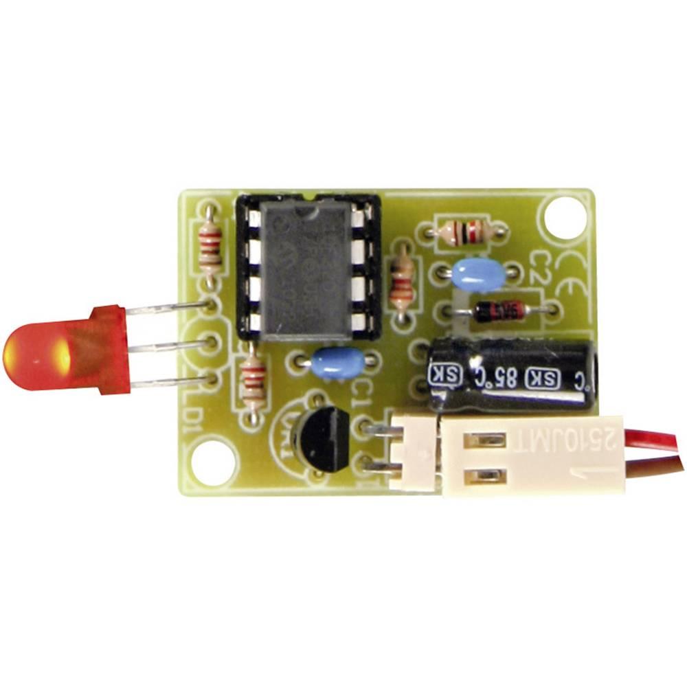 Velleman LED prikazovalnik za 12 V avtomobilski akumulatorski komplet MK189