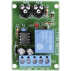 Intervalni časovni modul Velleman, obratovalna napetost 12 V/DC, izhodna moč 3 A, časovno območje: čas impulza 0,5 s in 5 s / ča