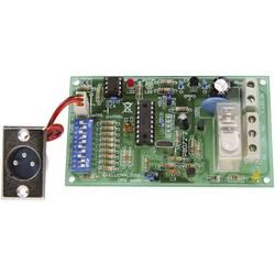 Relejna kartica Velleman, krmiljenje prek DMX, obratovalna napetost 12 V/DC, izhodna moč 10 A