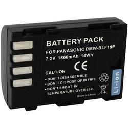 Kamerabatteri Conrad energy Ersättning originalbatteri DMW-BLF19 7.2 V 1500 mAh
