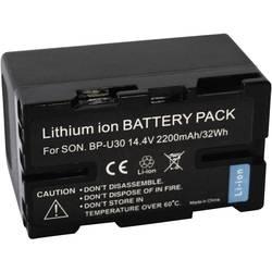 Kamerabatteri Conrad energy Ersättning originalbatteri BP-U30 14.4 V 2200 mAh