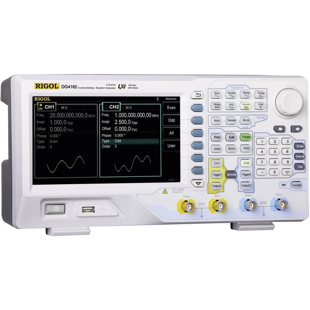 Rigol DG4102 arbitrarni funkcijski generator, frekvenčno območje 1 µHz - 100 MHz, 2 kanalni, 14 bit vertikalna resolucijag