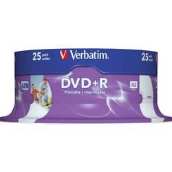 DVD+R prazni Verbatim 43539 4.7 GB 25 kom. okrugla kutija ispisiv