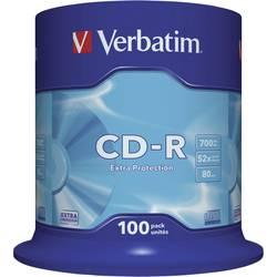 CD-R 80 prazni Verbatim 43411 700 MB 100 kom. okrugla kutija