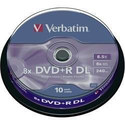 DVD+R DL prazni Verbatim 43666 8.5 GB 10 kom. okrugla kutija