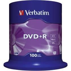 DVD+R prazni Verbatim 43551 4.7 GB 100 kom. okrugla kutija