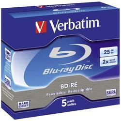 Prazni Blu-ray BD-RE mediji Verbatim 43615, 5 komada, 25 GB