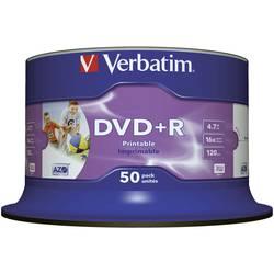 DVD+R prazni Verbatim 43651 4.7 GB 50 kom. okrugla kutija ispisiv