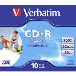 CD-R 80 prazni Verbatim 43325 700 MB 10 kom. kutija
