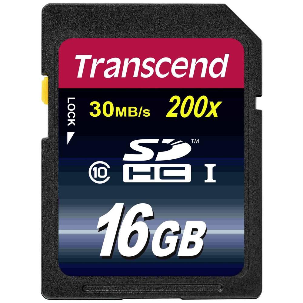 Transcend SDHC-kartica Transcend, 16 GB, Class 10 TS16GSDHC10