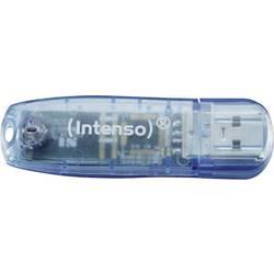 USB-ključ 4 GB Intenso Rainbow Line plavi 3502450 USB 2.0