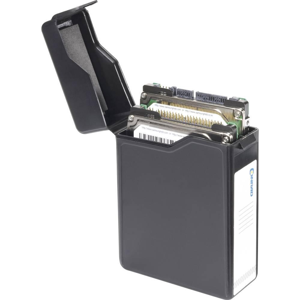 6,35 cm (2,5 tommer) harddisk-opbevaringsboks 414030