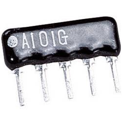Otporna mreža 100 Ω radijalno ožičena SIP-4+1 0.125 W TRU Components 1 kom.