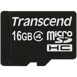 Kartica microSDHC Transcend, 16 GB, klasa 4 TS16GUSDC4