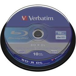Blu-ray BD-R DL prazni Verbatim 43746 50 GB 10 kom. okrugla kutija
