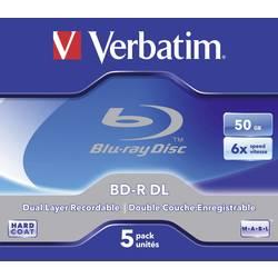Blu-ray BD-R DL prazni Verbatim 43748 50 GB 5 kom. kutija