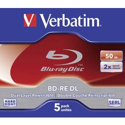 Blu-ray BD-RE DL prazni Verbatim 43760 50 GB 5 kom. kutija