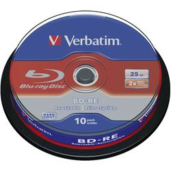 Blu-ray BD-RE prazni Verbatim 43694 25 GB 10 kom. okrugla kutija