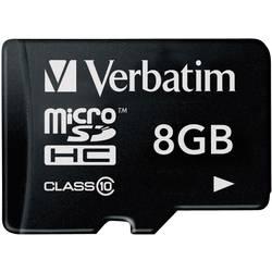 Kartica microSDHC Verbatim, 8GB, razred 10 44012