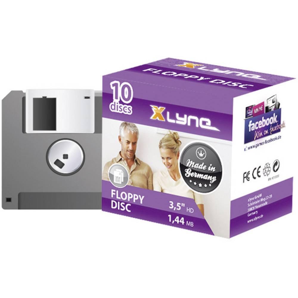 3,5 diskette Xlyne 9010000 1.44 MB 10 stk
